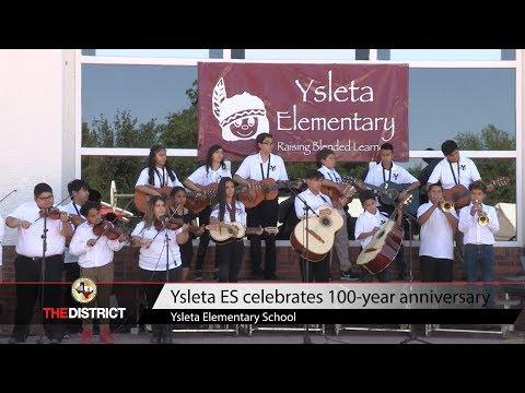 Ysleta Elementary School celebrates 100-year anniversary