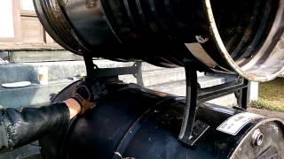 How to build a double barrel heater