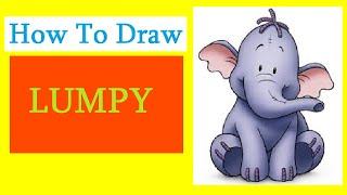 How to Draw a Lumpy / Как нарисовать Лумпи