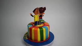 Торт барбоскины