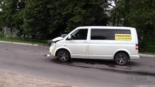 Васильков, ДТП ул Декабристов у магазина