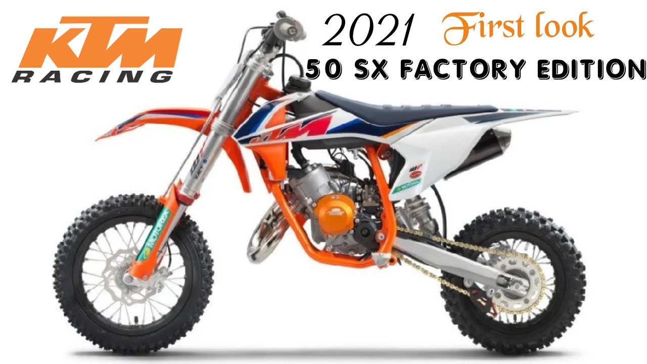 2021 KTM 50 SX Factory Edition Announced