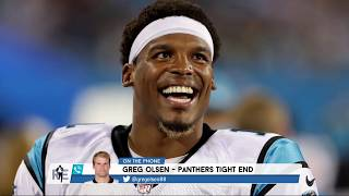 "Panthers TE Greg Olsen Cam's Airplane Adventures & ""Hamilton"" Schooling 