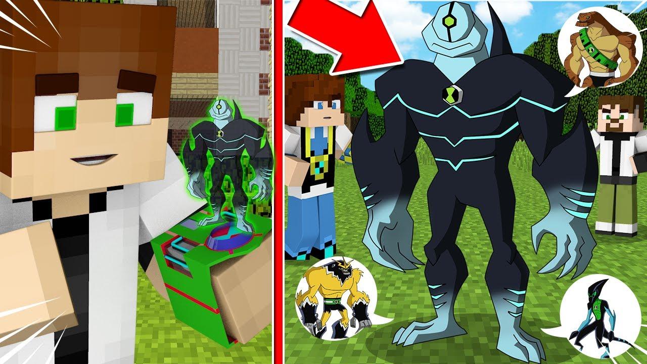 BU YENİ UZAYLI SÜPER OHAA! (HEPSİ İÇİNDE!😱 ) - BEN 10 Minecraft