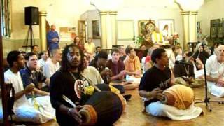 Denver Temple sings Namaste Narasimhaya (Sri Nrsimha Pranama)