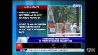 Philippines Hostage-Taker Rolando MendozaThreatens Drastic Action