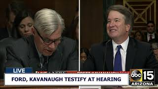 RAW FULL: Supreme Court nominee Brett Kavanaugh's Testimony
