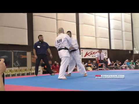 IKO EC 2016, 1/4 -80 Paco Zapata (Spain) - Ashot Zarinyan (Russia, Aka)