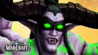World of Warcraft: Illidan Stormrage's Story - All Cinematics Movie [Up to WoW Legion 7.3]