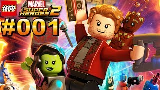 LEGO MARVEL SUPER HEROES 2 #001 Die Guardians of the Galaxy retten den Tag [Deutsch]