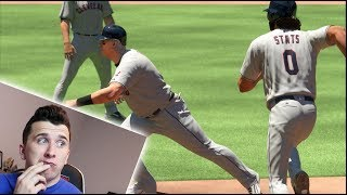 Is It Possible For A 99 Speed Player To Pass A 0 Speed Player On The Bases? MLB The Show 17