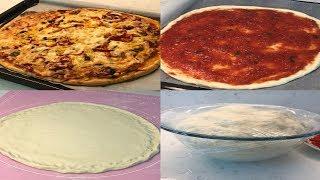 Muhteşem Pizza Hamuru ve Pizza Sosu Nasıl Yapılır?Hakiki İtalyan Pizzası Hamuru