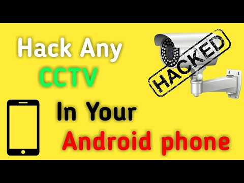 How To Hack CCTV | Hack Any Security cameras with your smartphone