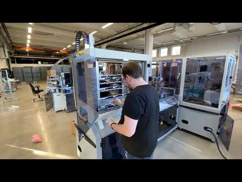 Installation Of Festo Cyber Physical Factory @mitc