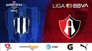 Resumen Monterrey vs Atlas   LigaBBVAMXFemenil   Guard1anes 2021 J17