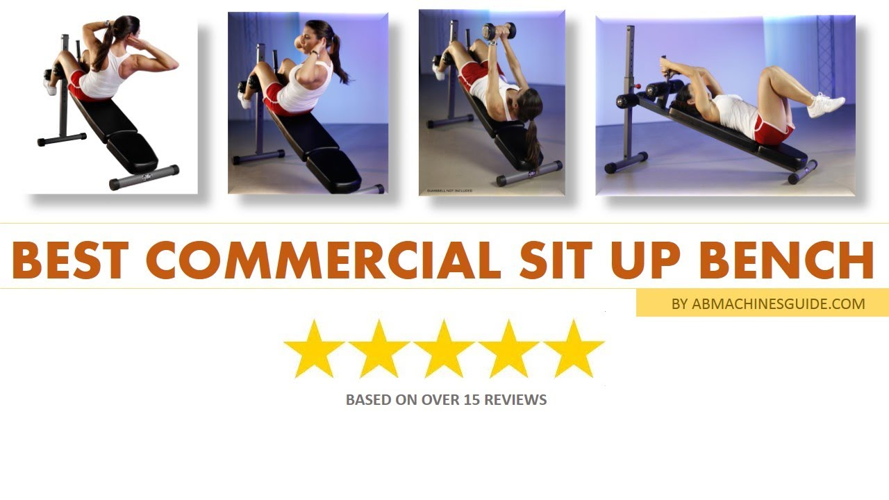 Commercial Adjustable Sit Up Bench On Great Price Youtube