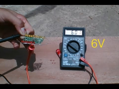 Free Energy , How to make solar cell from LED very easy, new idea to make solar cell