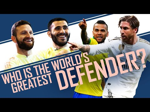 Who is the GOAT?   Ramos vs Pique vs Lahm   World Cup of Everything with Mustafi & Kolasinac