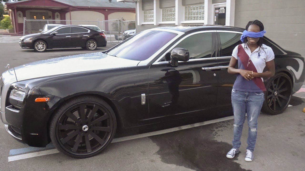 I Bought My Wife A Brand New 2018 Rolls Royce Ghost Emotional