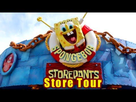 Universal Orlando Sponge Bob Store