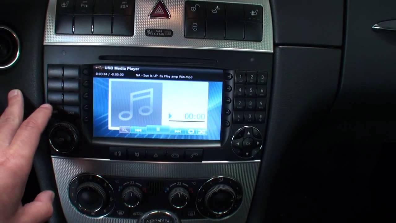 Adaptateur Poste Radio Mercedes