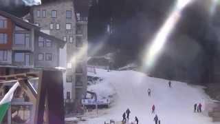 видео Горные лыжи в Болгарии