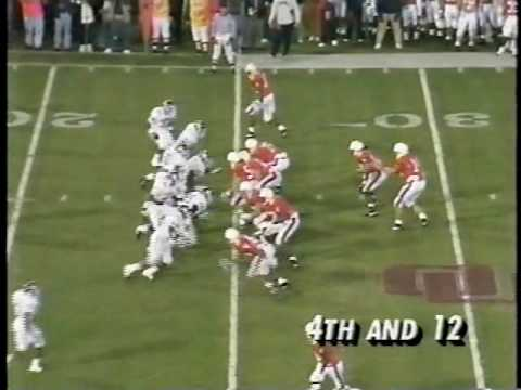 #20 Oklahoma Sooners vs. #19 Virginia Cavaliers - 1991 Gator Bowl - 1st Half