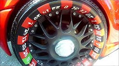 BBS Wheels like Roulette Wheel  ( Crazy )