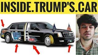 Inside Trump's 100 Crore Car | Tamil | Donald Trump | Madan Gowri