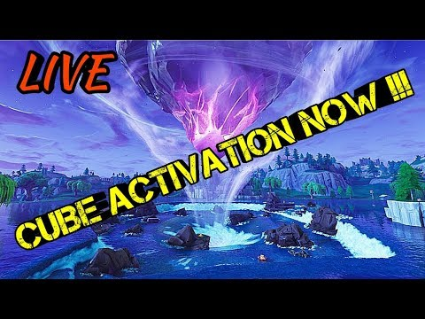 ISLANDS ARE MOVING + *CUBE ACTIVATION NOW* !!! | Fortnite Battle Royale