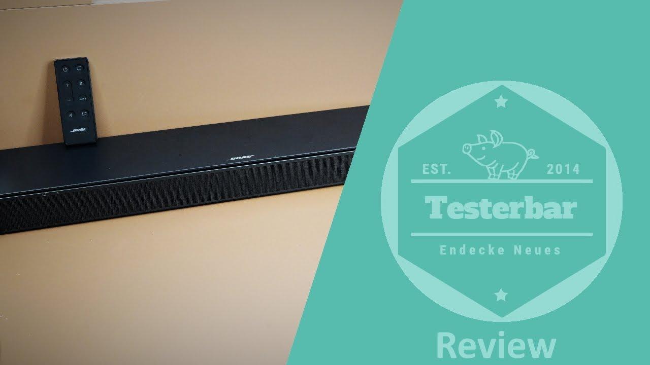 Bose TV-Speaker - die beste Bose Soundbar