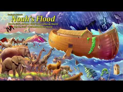 "Britten's ""Noah's Flood"" June 9th, 8:00pm at Holy Cross Lutheran Church"