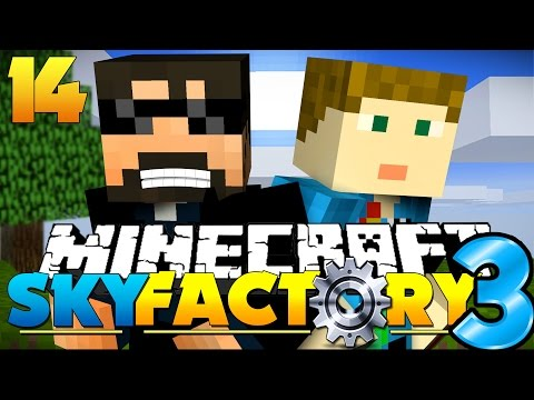 Minecraft: SkyFactory 3 - DEMON CALL AND TREES?! [14]