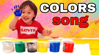 🍀Daniel learns colors | Learn colors for kids  | Colors Nursery rhyme | Color song for kids