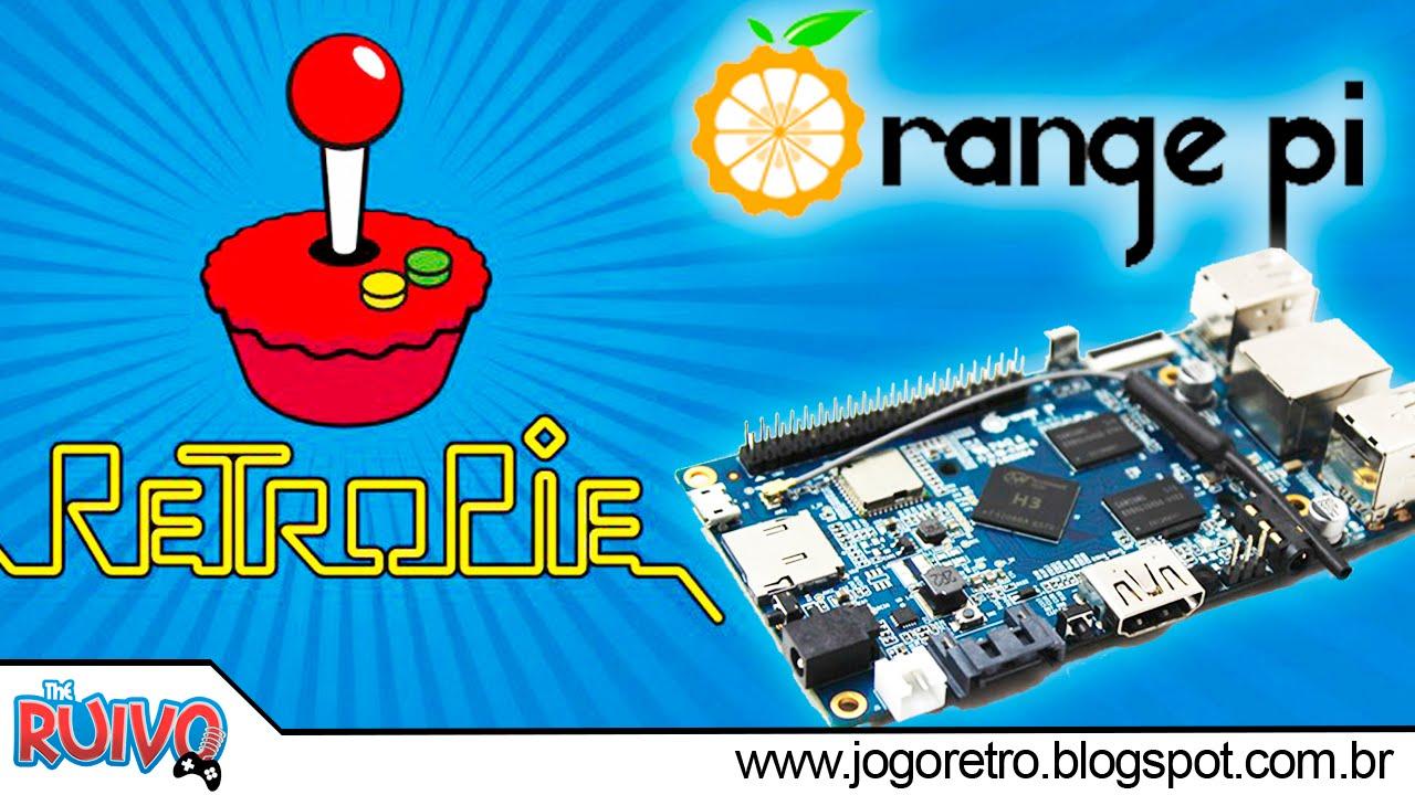 Orange Pi PC - New RetroPie (EmulationStation) + TESTES com Emuladores