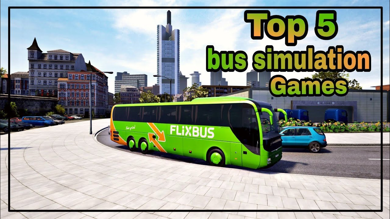 Top 5 Best bus  Driving Simulator Games For Pc  2017-18