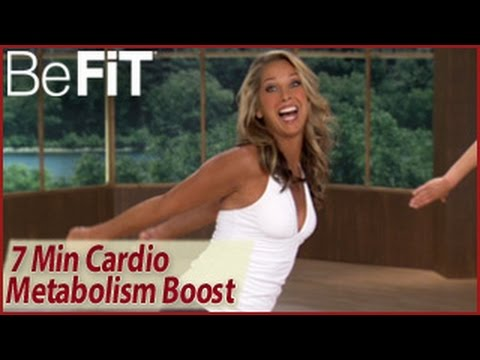 7 Min Cardio Metabolism Booster Workout: Denise Austin