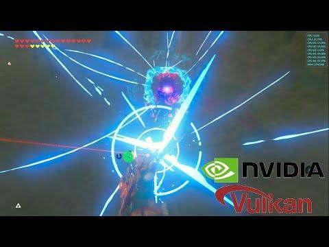Cemu 1 16 0 WIP 5 (Vulkan) | Zelda: Breath of the Wild