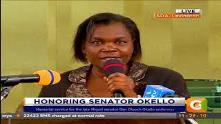 Memorial service for late Migori senator Oluoch Okello underway #CitizenExtra