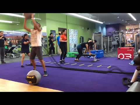 High-intensity interval training (HIIT) at Anytime Fitness CDO