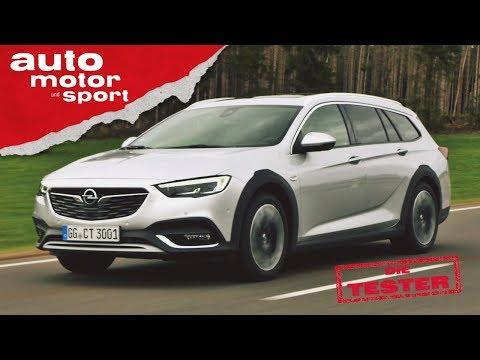 Opel Insignia Country Tourer Ist der Kombi das bessere SUV Die Tester auto motor und sport