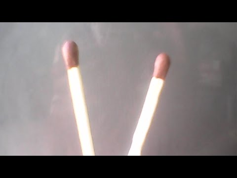 How to light a match 3 stick to 1fire