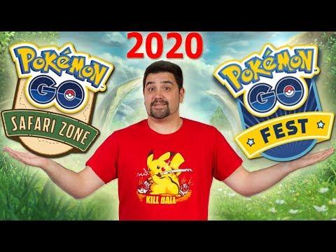 ¡COMO CONSEGUIR un EVENTO de Pokémon GO en tu CIUDAD! Safari Zone y Go Fest 2020 [Keibron] thumbnail