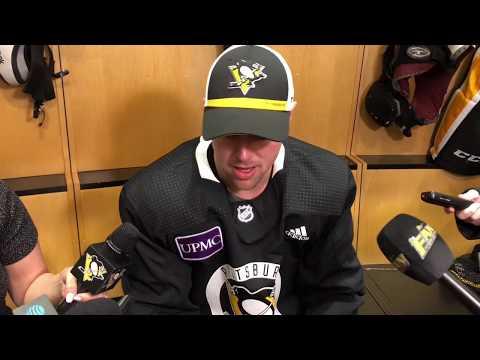 New Penguins Forward Tanner Pearson Speaks to Media for 1st Time   Pens Locker Room