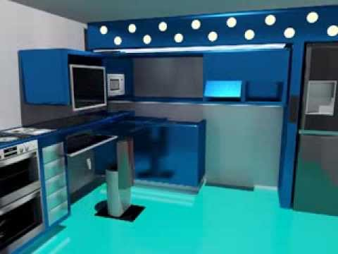 futuristic kitchen design - Futuristic Kitchen