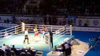 Чемпионат мира по боксу в Алматы. Финал каз-ирл.