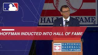Trevor Hoffman inducted into Baseball Hall of Fame
