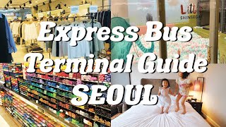 Watch This Before Visiting Express Bus Terminal Shopping Mall