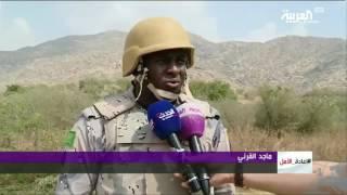 العربية ترافق قوات النخبة في مهمة تمشيط القرى الحدودية