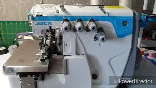 Скачать Длина стежка и дифференциал на Jack E4 Настройка промышленного оверлока
